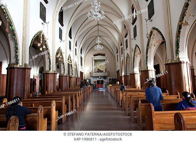 Santuario del Senor de Monserrate, Church, Monserrate, Bogota, Colombia