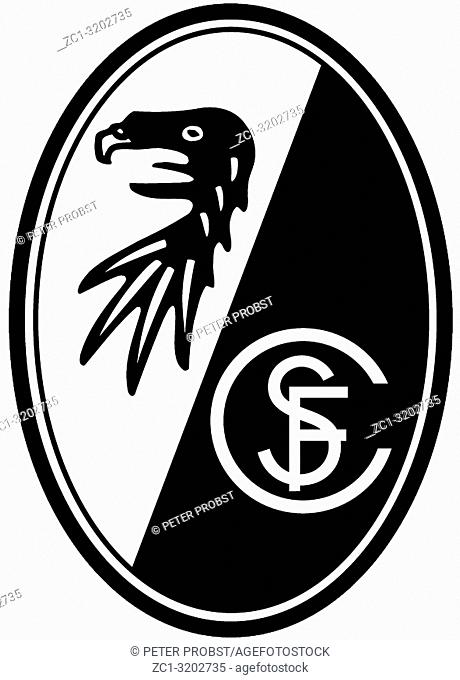 Logo of German football team SC Freiburg - Germany