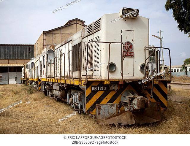 Old Rusty Train In The Railway Station, Dire Dawa, Ethiopia
