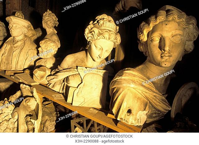 plaster cast from the Durenne collection stored in the ''Paradis'' at Sommevoire, that place is managed by the association ''Les Compagnons de Saint Pierre''