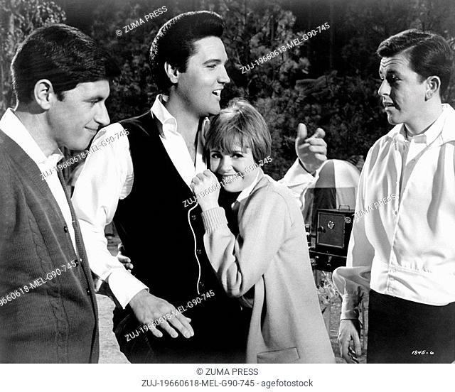 Jun 18, 1966; Hollywood, CA, USA; Scene from the musical comedy 'Spinout' directed by Norman Taurog. (Credit Image: © Courtesy of...
