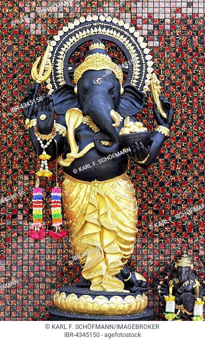 Ganesha, elephant god, Hindu, Statue, New Territories, Hong Kong, China