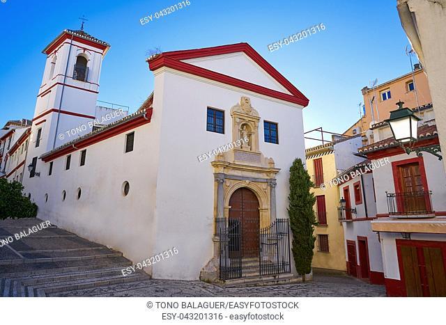 Saint Gregorio church Albaicin of Granada of Andalusia Spain