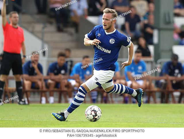 firo: Football, 21.07.2018 1st Bundesliga, 1st BL Season 2018/2019 S04 FC Schalke 04, Test match, Test, Friendly match, Preparatory match versus ETB...