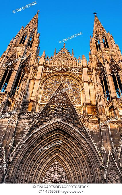 Le Saint Ouen, church, Rouen, Normandy, France, Europe