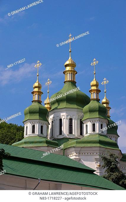 Vydubychi Monastery, Kiev, Ukraine, Europe