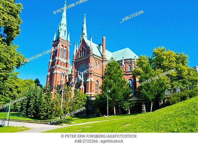 Johanneksenkirkko, St John's church, Punavuori, Helsinki, Finland