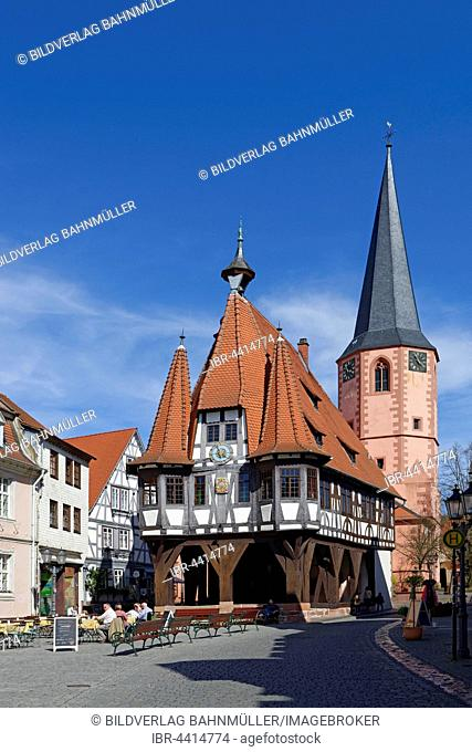 Michelstadt City Hall, Odenwald, Hesse, Germany
