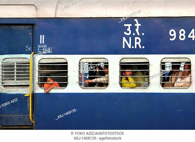 Train, New Delhi, India