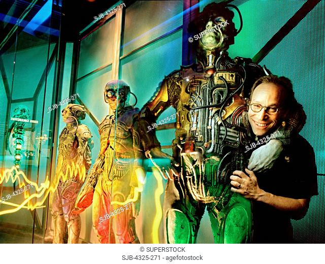 Following in Einstein's Footprints: Lawrence M. Krauss Hangs Out with The Borg