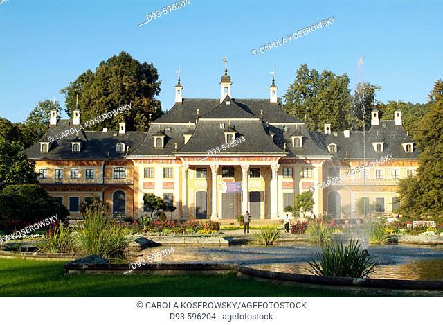 Germany, Saxony, Dresden, Pillnitz, Palace