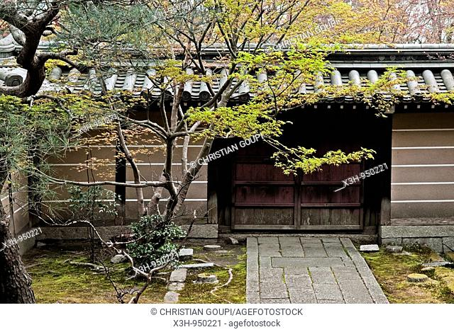 Eikan-do Zenrin-ji temple, Kyoto, Japon