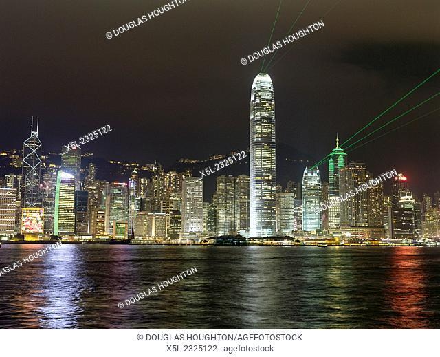 Symphony Lights HONG KONG HARBOUR HONG KONG Hong Kong harbour