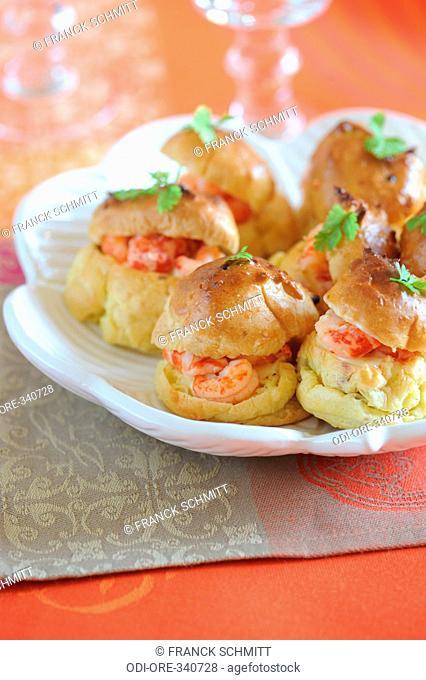 Crawfish pastries