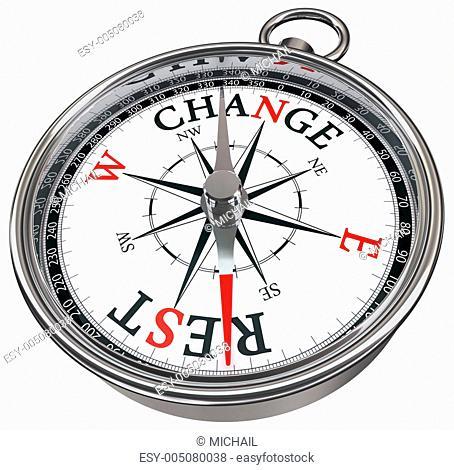 change vs rest concept compass