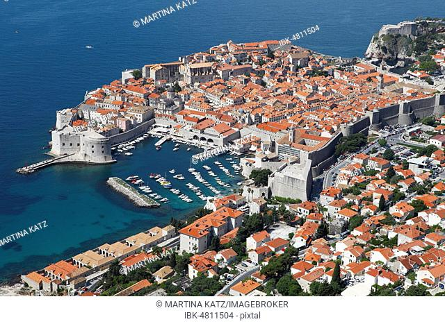 View of the Old Town, Dubrovnik, Croatia