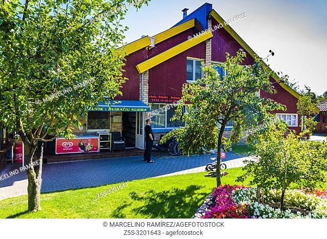 Lyra Restaurant. Preila, Curonian Spit, Neringa Municipality, Klaipeda County, Lithuania, Baltic states, Europe