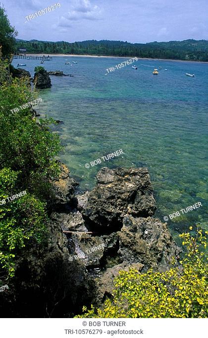 Plymouth Tobago Trinidad Sea