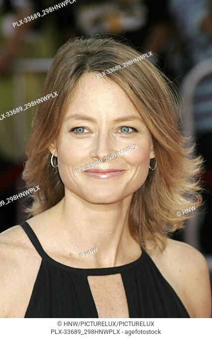 "Jodie Foster 08/11/08 """"Tropic Thunder"""" Premiere @ Mann Village Theatre, Westwood Photo by ImaKuroda/HNW / PictureLux (August 11"