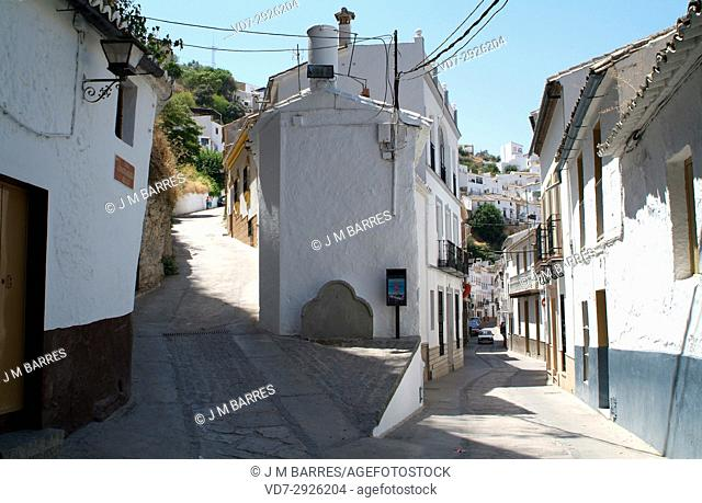 Setenil de las Bodegas. Cadiz province, Andalucia, Spain