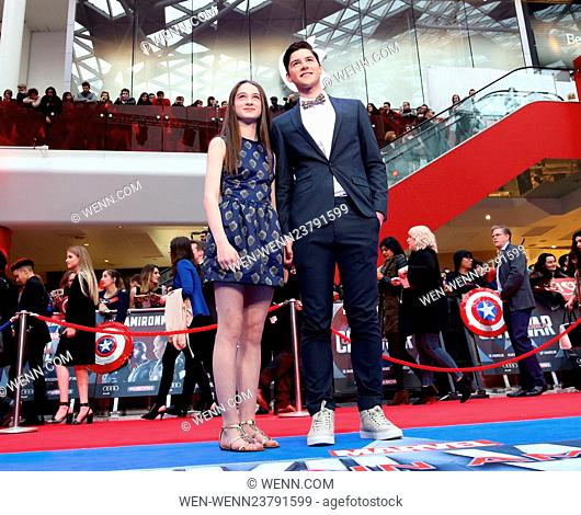 'Captain America: Civil War' film premiere, London, Britain Featuring: Guest Where: London, United Kingdom When: 26 Apr 2016 Credit: WENN.com