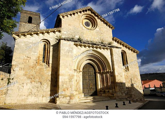 Church of Santa Maria de la Peña in Brihuega, Guadalajara province, Spain