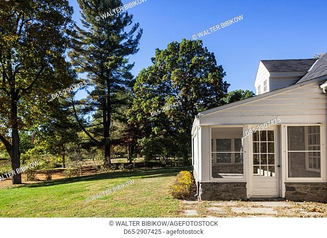 USA, New York, Hudson Valley, Hyde Park, Eleanor Roosevelt National Historic Site, former cottage of First Lady Eleanor Roosevelt, Val-Kill