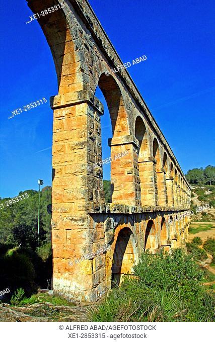 Pont del Diable, Tarragona, Catalonia, Spain