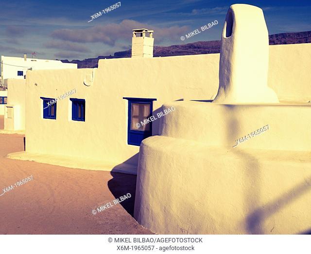 Caleta del Sebo village. La Graciosa island. Chinijo Archipelago
