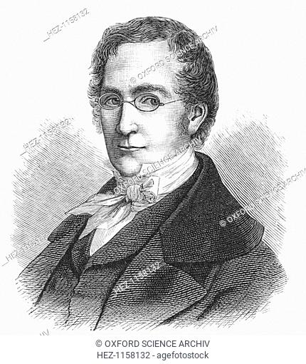 Joseph Louis Gay-Lussac, French chemist and physicist, c1895. Gay-Lussac (1778-1850) investigated the behaviour of gases and developed techniques of chemical...