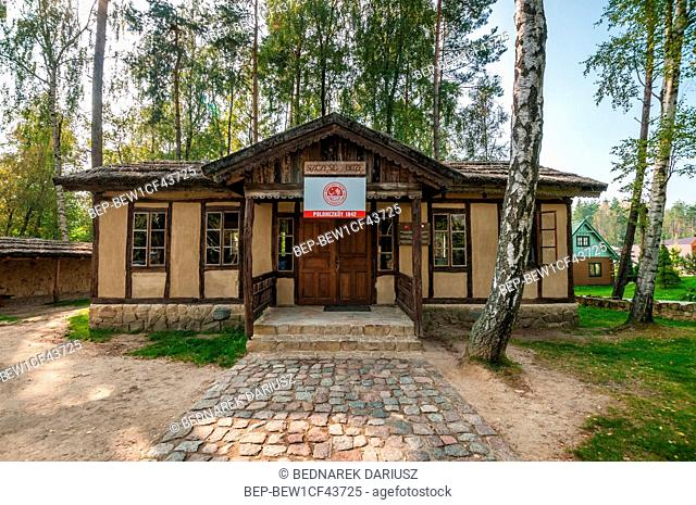 home of the Polish insurgent. Centre for education and regional promotion. Szymbark, village in Pomeranian Voivodeship, Poland