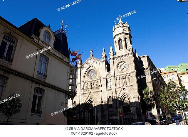 Church of Carmelitas, Santander, Cantabria, Spain