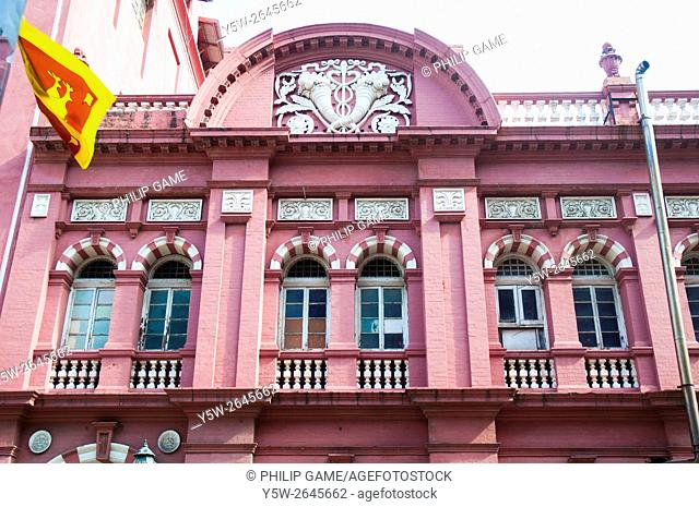 Colonial-era commercial building in the Fort district of Colombo, Sri Lanka