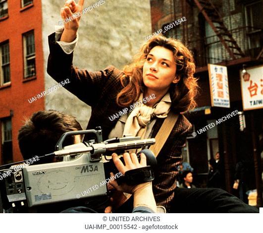 Palermo vergessen, (DIMENTICARE PALERMO) I-F 1989, Regie: Francesco Rosi, MIMI ROGERS Stichwort: Kamera