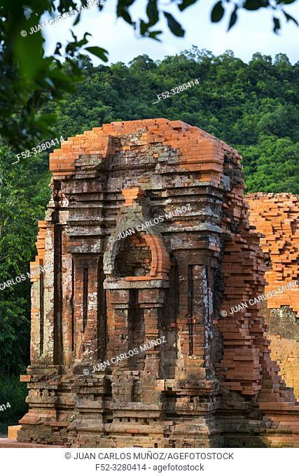 My Son Sanctuary, Hindu Temples, Unesco World Heritage, Quan Nam Province, Vietnam, Asia