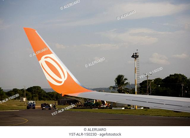 Wing of Airplane, Santarém, Pará, Brazil