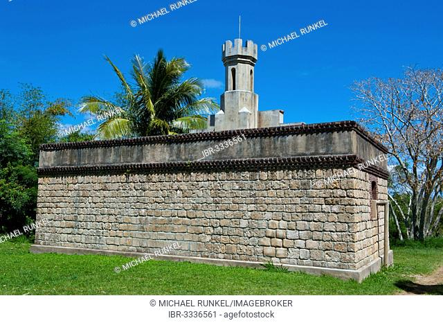 Old convict prison, Kuto, Île des Pins, New Caledonia, France