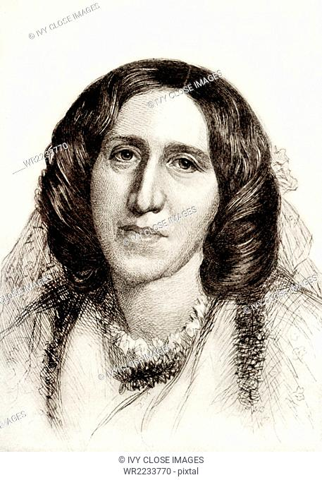 George Eliott was the pen name of Mary Ann (also Marian and Mary Anne) Evans (1819-1880). She was an English novelist, poet, jounalist, and translator