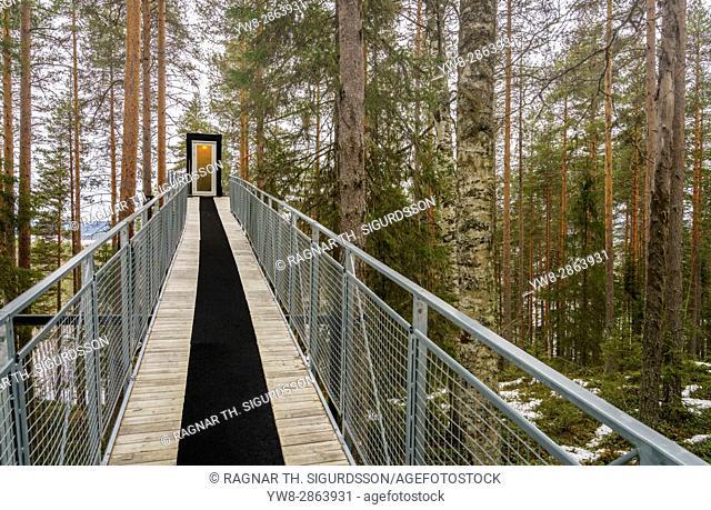 Tree Hotel in Lapland, Sweden