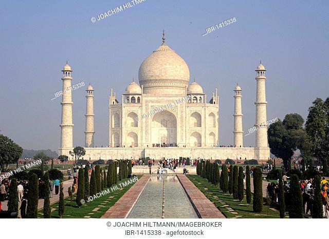 Taj Mahal, UNESCO World Heritage Site, Agra, Uttar Pradesh, North India, India, South Asia, Asia