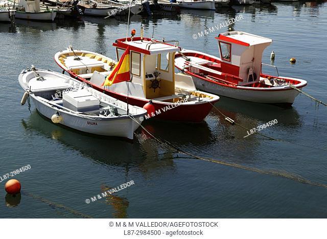 Castropol harbour