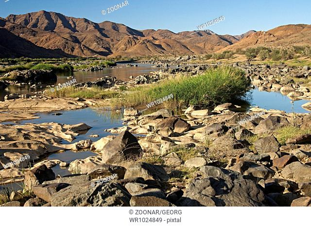 Valley of the Orange River in the Richtersveld