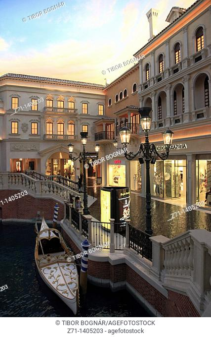 USA, Nevada, Las Vegas, The Venetian, hotel, casino, resort