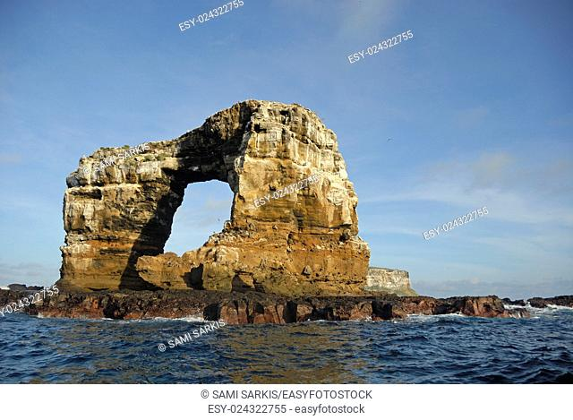 Darwin's Arch, Darwin Island, Galapagos Islands, Ecuador, South America