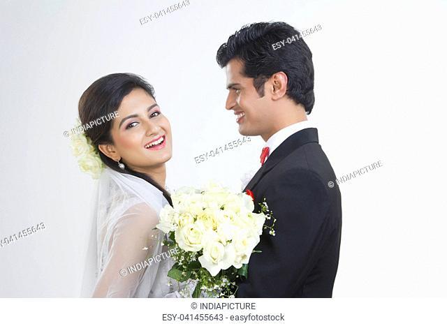 Portrait of a Bride and Bridegroom