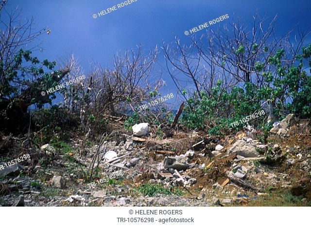 Scarborough Tobago Trinidad Rubbish Dump