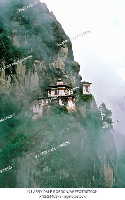 The Tigers Nest Monastery. Paro Valley, Bhutan