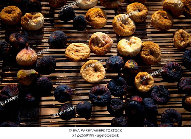 The dried figs are typical in Formentera (Balearic Islands)