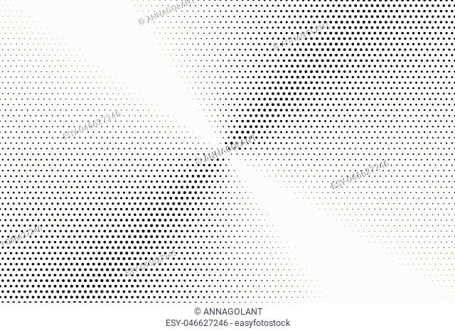 Halftone pattern. Comic background. Dotted retro backdrop with circles, dots. Design element for web banners, posters, cards, wallpapers, sites