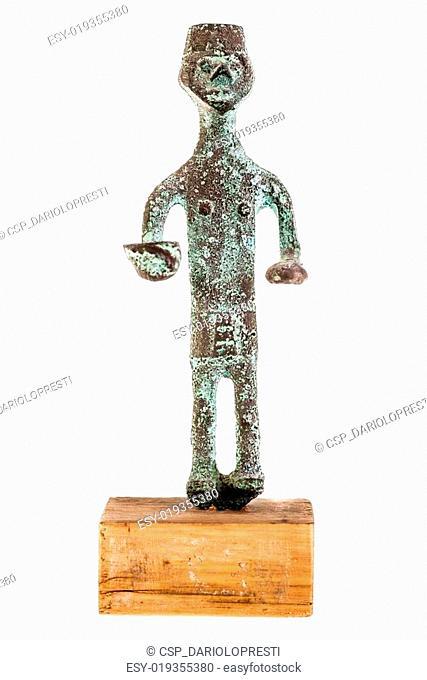 Nuragic statue